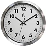 Geneva 10-Inch Metal Wall Clock