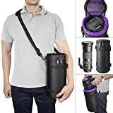 Deluxe Camera Lens Pouch Case by Altura Photo for Sigma 150-500mm, Tamron 150-600mm, JBL Xtreme Speakers and Other Telephoto Lenses