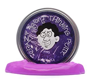 Crazy Aarons Putty World Crazy Aarons Purple Thinking Putty