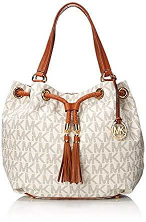 Amazon.com: Michael Kors Handbag Jet Set Item Large