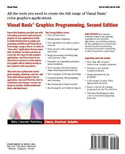 Visual Basic(r) Graphics Programming: Hands-On Applications and Advanced Color Development, 2nd Edition by Wiley