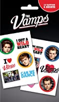 The Vamps Mix Temporary Transfer Tattoos Pack