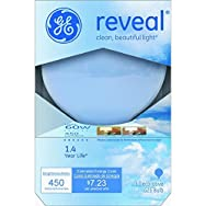 GE Lighting42361Reveal Decorative Globe Bulb-60W G25 WHT REVEAL BULB