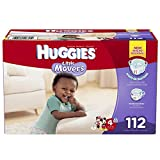 Huggies Little Movers Diapers, Size 4, 112 Count (Packaging may vary)