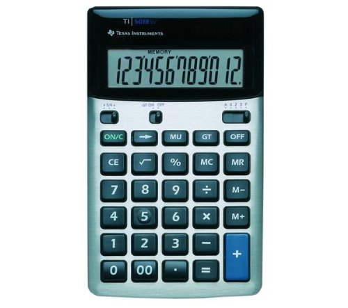 texas-instruments-ti5018sv-desk-calculator-with-12-digit-display