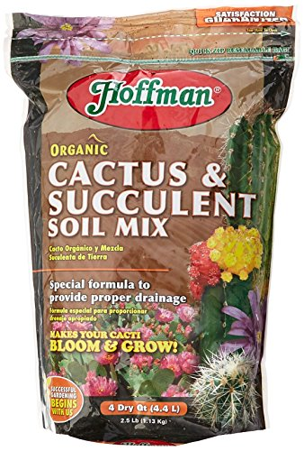 HOFFMAN A H INC/GOOD EARTH - Cactus & Succulent Planting Mix, 4-Qts.