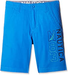 Nautica Kids Boys' Shorts (44B31B466_ Dive Blue_16)