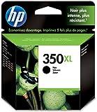 HP 350XL Schwarz Original Tintenpatrone mit hoher Reichweite