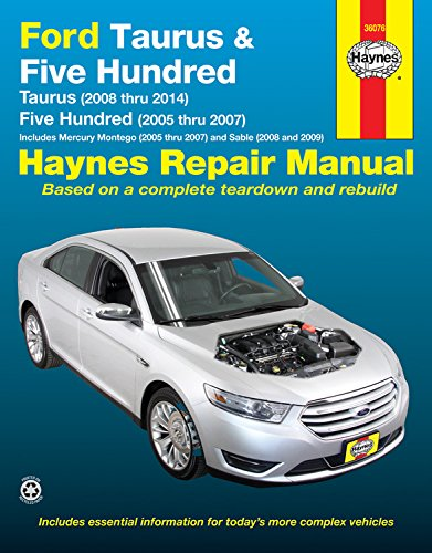 ford-taurus-five-hundred-mercury-montego-sable-automotive-repair-manual-models-covered-ford-taurus-2
