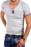 MT Styles - BS-530 - T-shirt avec col en V profond