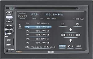 Jensen VM9224BT 2Din 6.2-inch widescreen LCD Car Multimedia Video Receiver from Jensen