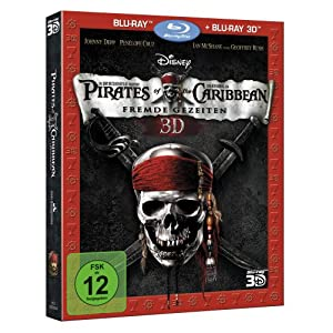 51zdyQiXmSL. AA300  Pirates of the Caribbean – Fremde Gezeiten (2D + 3D Blu ray) nur 19,99€