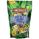 Emerald Tropical Blend Premium Trail Mix, 6-Ounce Pouches (Pack of 6) by Emerald