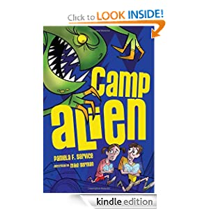 Camp Alien (Alien Agent) Pamela F. Service and Mike Gorman