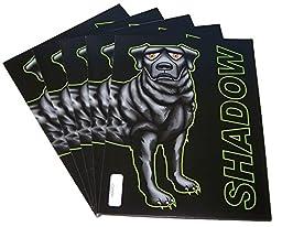 School Folders (5-pack), 30% Recycled, Shadow