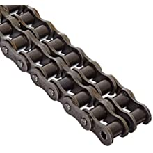 "Morse 60-2R 10FT Standard Roller Chain, ANSI 60-2, Riveted, 2 Strands, Steel, 3/4"" Pitch, 0.468"" Roller Diamter, 1/2"" Roller Width, 116000lbs Average Tensile Strength, 10ft Length"