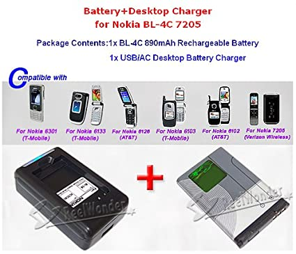 Nokia 6133 Charger Desktop Charger For Nokia