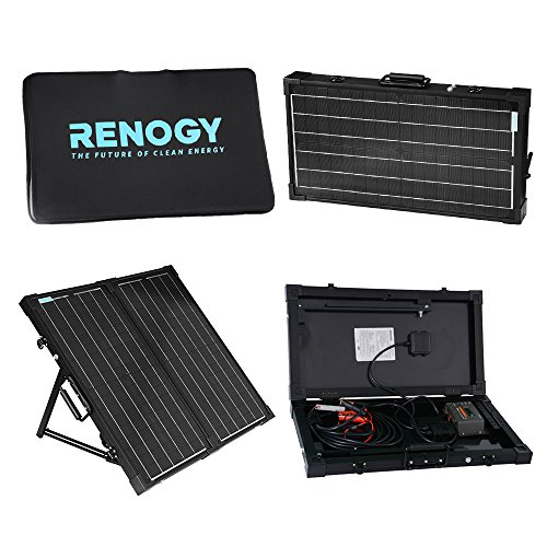 Renogy Portable Folding Solar Power Panel PV 60w Watts for 12v Battery Charging