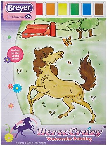 breyer-activity-set-4159-horse-crazy-malen-mit-wasserfarben