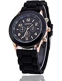 GT Gala Time New Chronograph Dial Design Black Color Wrist Watch For Girls & Women