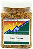 Mother Earth Products Dried Sweet Potato Dices, 1 Full Quart