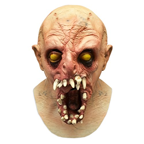 Scary Halloween Monster Alien Latex Face Mask Costume - Off the Wall Toys
