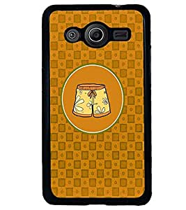 PRINTVISA Abstract Shorts Case Cover for Samsung Galaxy Core 2