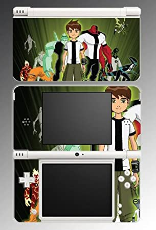 Ben 10 Alien Force Omnitrix Game Vinyl Decal Skin Protector Cover for Nintendo DSi XL