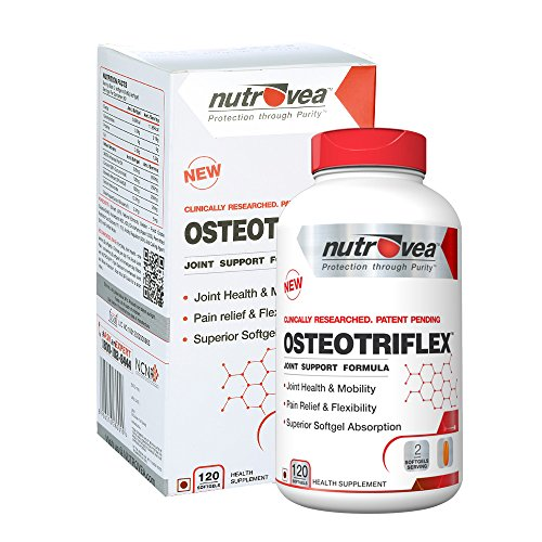 Your joint health is a critical component of your overall well being. Healthier joints simply mean greater comfort, wider range of motion and mobility and better flexibility.  While conventional joint products rely largely on glucosamine and chondroitin to solve joint problems, OSTEOTRIFLEX has none of them. Although many people believe glucosamine treats joint pains real world evidence shows otherwise. Don't get me wrong, I'm not saying that glucosamine is useless. Glucosamine helps in repairing the joints, however it does nothing to reduce the inflammation inside the body thats causing the pain in the first place.  A large scale multi-centre clinical trial called Glucosamine/ Chondroitin Arthritis Intervention Trial (GAIT) found that 2 years of supplementation with glucosamine and chondroitin wasn't successful in reducing joint pain.  The main reason for most joint pains is excess inflammation inside the body. OSTEOTRIFLEX contains ingredients that help in combating inflammation, thus nipping the problem in the bud. It contains fish oil, curcumin and boswellia in proper dosages that enable you to deal with both acute and chronic inflammation and joint pain.
