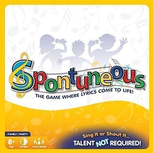 Spontuneous - The Game Where Lyrics Come to Life!