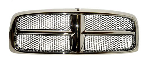 OE Replacement Dodge Pickup Grille Assembly (Partslink Number CH1200248)
