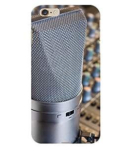 D KAUR Music Overloaded Back Case Cover for Apple I Phone 6 Plus::Apple I Phone 6 Plus