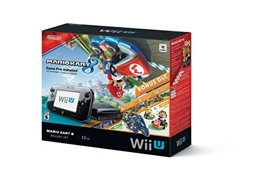 Nintendo Wii U 32GB Mario Kart 8 (Pre-Installed) Deluxe Set (Wii U Console 32gb compare prices)