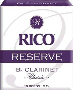 RICO リード レゼルヴ クラシック Bbクラリネット 強度:3.5(10枚入) RCT1035