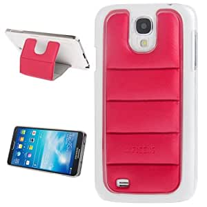 Infisens Series 3D Armor Body 2 in 1 PC + Leather Detachable Ballproof Clothes Padding Case for Samsung Galaxy S4 i9500 (Red)