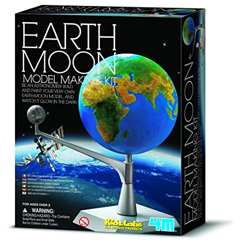 4M Earth and Moon Model Kit (Model Earth compare prices)