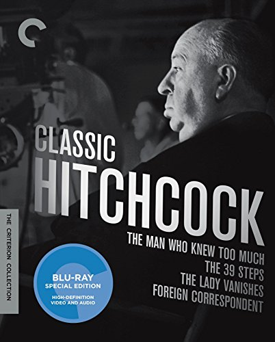 Classic Hitchcock: The Man Who Knew Too Much / The 39 Steps / The Lady Vanishes / Foreign Correspondent: The Criterion Collection [Blu-ray]