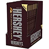 Hershey's Milk Chocolate with Almonds Giant Bar, 6.8-Ounce Bars (Pack of 12)