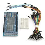 SainSmart Prototype Shield ProtoShield V3+Mini Breadboard+Jump Wires For Arduino MEGA1280 MEGA2560
