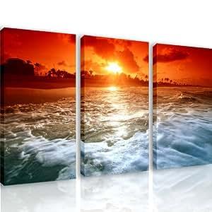 S16 incanto 3 quadri moderni 120x80 cm stampa for Quadri arredo salotto