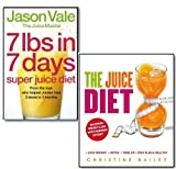 The Juice Diet Collection 2 Books Set The Healthy Way to Lose Weight. (The Juice Diet - The Healthy Way to Lose Weight & 7lbs in 7 Days Super Juice Diet) Jason Vale