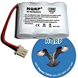 HQRP Cordless Phone Battery for AT&T / Lucent BT-17333 / BT17333, BT-27333 / BT27333, BT-17233 / BT17233 Replacement plus Coaster