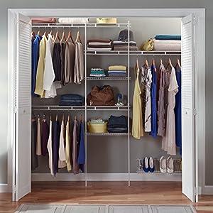 closetmaid 1608 delux closet organizer kit 5