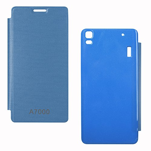 DMG Back Replace Flip Book Cover Case For Lenovo K3 Note/ Lenovo A7000 (Royal Blue)  available at amazon for Rs.299