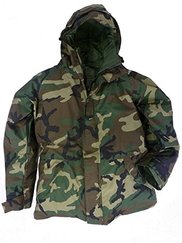 ECWCS Gen I parka in woodland camouflage