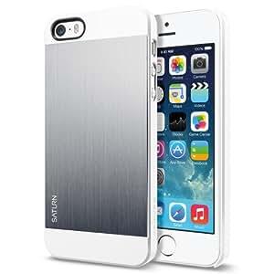 SPIGEN SGP Case Saturn Series Case for iPhone 5s / 5 Satin Silver