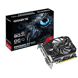 Gigaybyte AMD RADEON R7 360 2GB GDDR5 ( GV-R736OC-2GD ) OC Edition Graphics Card / PCI-E 3.0 / 2GB / GDDR5 / 128 Bit / HDMI/Dual-Link DVi-I/DVI-D/DP / With 90mm FAN