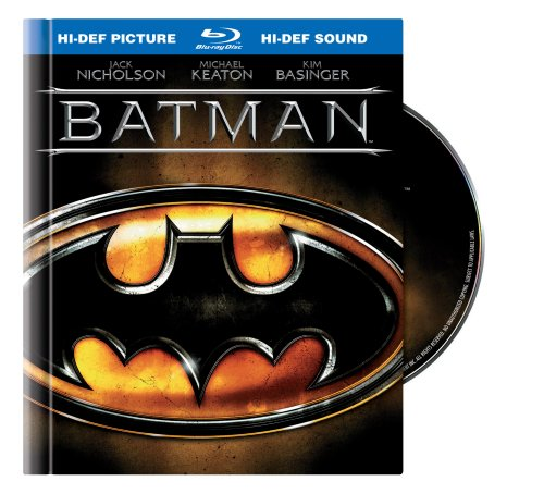 Cover art for  Batman (20th Anniversary Edition Blu-ray Book Packaging)