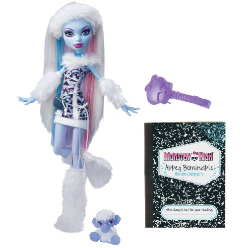 Monster High Abbey Bominable Doll With Pet Wooly