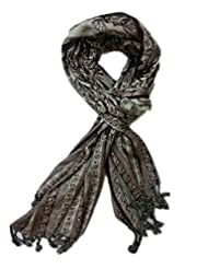 Adaa Fashion Stylish And Trendy Looking Women's Stole - B00R0AAJG8